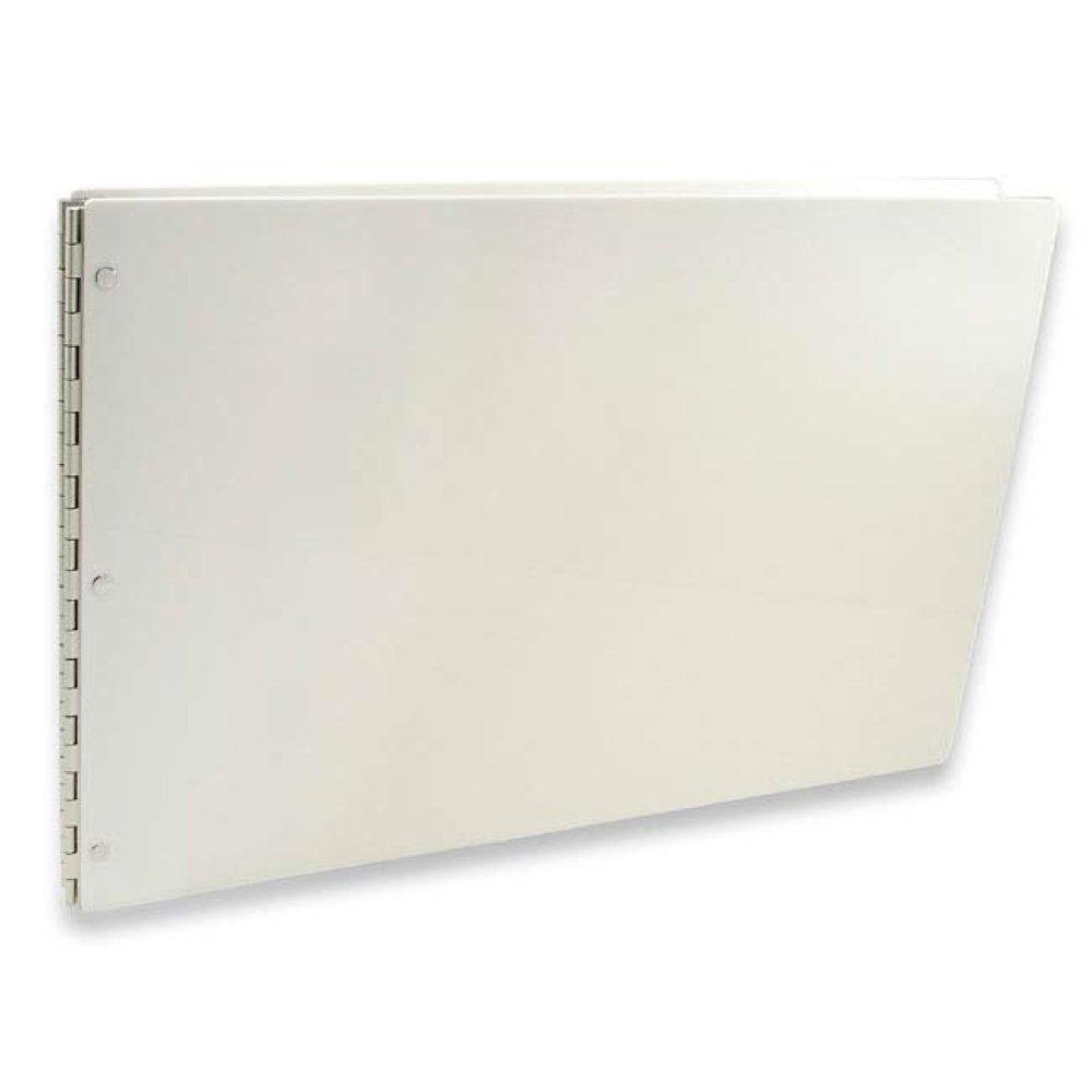 Pina Zangaro Vista, 11X17-Inch Screwpost Presentation Book, Landscape Format, Snow White Acrylic Finish COMINU035895 PZVPB1117SN