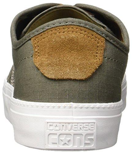 Converse Unisex-Erwachsene Cons Zakim Ox Sneaker grau - weiß
