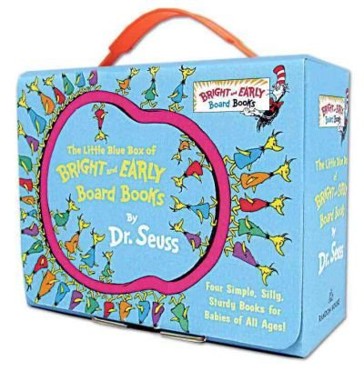 [ [ [ The Little Blue Box of Bright and Early Board Books by Dr. Seuss[ THE LITTLE BLUE BOX OF BRIGHT AND EARLY BOARD BOOKS BY DR. SEUSS ] By Dr Seuss ( Author )Aug-07-2012 Hardcover pdf epub
