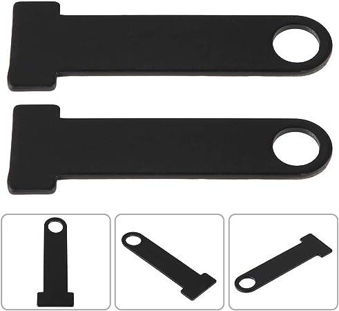 Universal Black Motor Helmet Strap D-Ring Lock Stainless Steel for Honda
