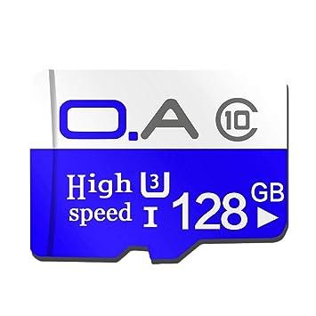 LQNCK Tarjeta TF 128 g Tarjeta de Memoria del teléfono móvil ...