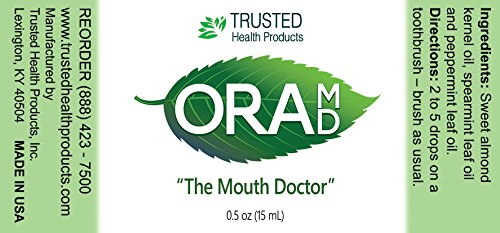 OraMD Original – Gingivitis, Bleeding Gums – Superior Toothpaste and Mouthwash Alternative – 100% Pure Essential Oils – Dentist Recommended for Over 15 Years by OraMD (Image #2)