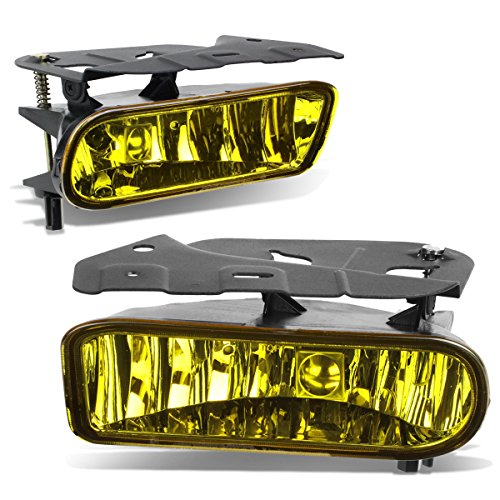 For Cadillac Escalade EXT ESV Pair of Bumper Driving Fog Lights (Amber)