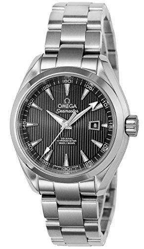 Omega Seamaster Black Dial Ladies Watch 231.10.34.20.01.001