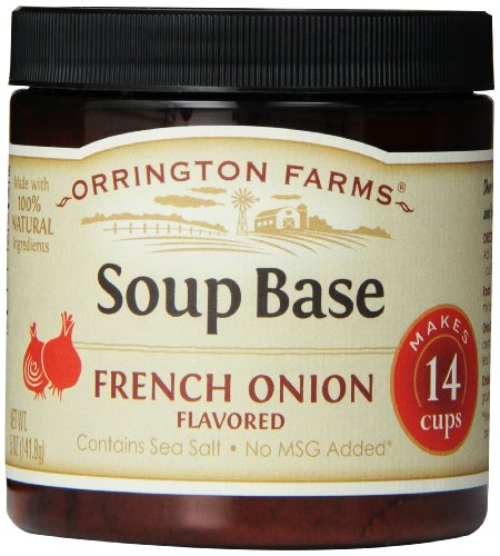 Orrington Farms French Onion Soup Granular Base, 5-Ounce (Pack of 6)