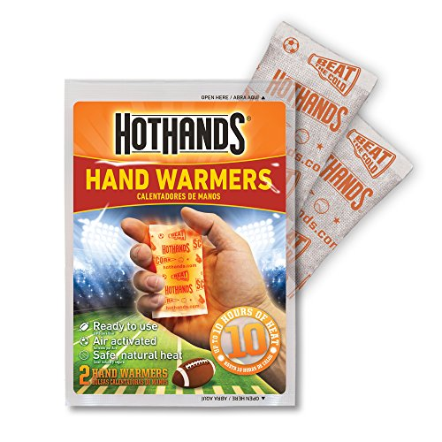 HotHands Game Day Hand & Toe Warmers Long Lasting Safe Natural Odorless Air Activated Warmers 24 Pair OF Hand Warmers & 8 Pair Of Toe Warmers