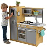 KidKraft 53298 Uptown Natural Kitchen, 43.00 x 17.75 x 41.00 Inches