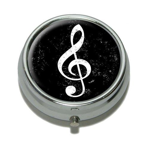 Vintage Treble Music Distressed Trinket