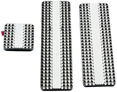 RealWheels RW235-1-KW Diamond Billet Pedals (Set of 3)