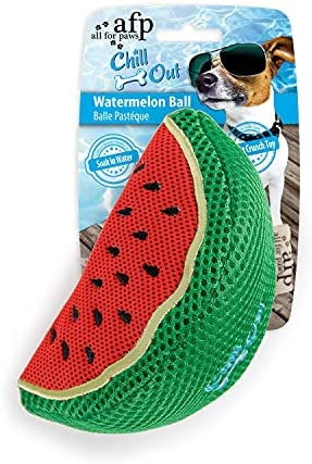 All For Paws Chill Out Blueberry Ice Cream Dog Chew Toy, 2.5 kg (Watermelon Slice)
