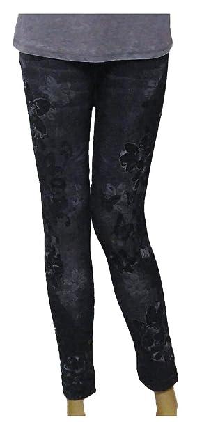 fa9172ea60dcd Julia Fashion Zetumoda's Ladies Denim Look Stretchy Jean Leggings ...