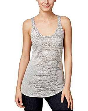Womens Metallic Logo Tank Top!
