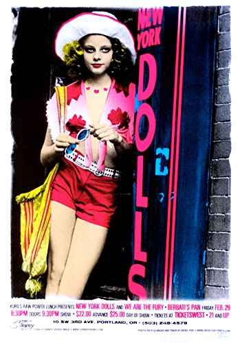 New York Dolls Poster w/ We are the Furry 2008 ()