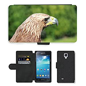 PU LEATHER case coque housse smartphone Flip bag Cover protection // M00135397 Adler Raptor Ave Rapaz Aves // Samsung Galaxy S4 Mini i9190