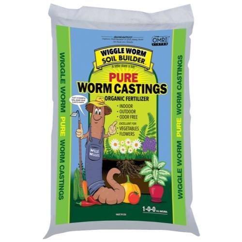 Wiggle Worm Soil Builder Earth Worm Castings 30 lb 75//Plt