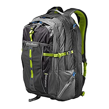 Eddie Bauer Unisex-Adult Adventurer Backpack, Dk Smoke ONESZE