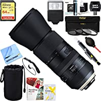 Beach Camera Tamron (AFA022S-700) SP 150-600mm F/5-6.3 Di USD G2 Zoom Lens for Sony Mounts + 64GB Ultimate Filter & Flash Photography Bundle