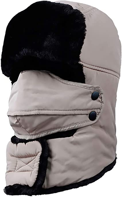trustforever – Gorro de invierno Unisex invierno orejeras Ear Flap ...