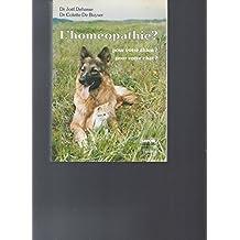 Homéopathie? pour votre chien?..chat?