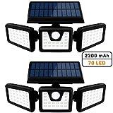 Otdair Solar Security Lights, 3 Head Motion
