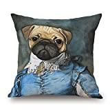 Throw Pillow Covers Of Dog 20 X 20 Inches / 50 By 50 Cm Best Fit For Bench Festival Bf Bedroom Adults Drawing Room Each Side