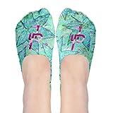 JakePaulIt'sEveryDayPink Polyester Cotton Deodorant Ankle Socks Non Slip Socks For Women Girl
