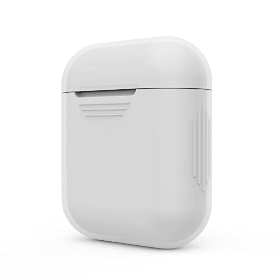 new style 7015a 76f4a Xberstar Silicone Shock Proof Protective Case Sleeve Skin Cover for Apple  AirPods True Wireless Headphone Charging Box (Transparent)
