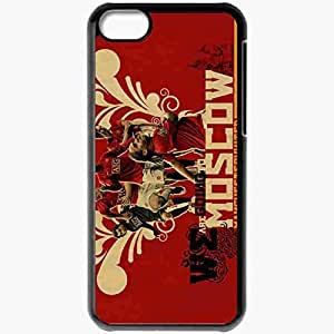 Personalized iPhone 5C Cell phone Case/Cover Skin Manchester United FIFA UEFA Football Black