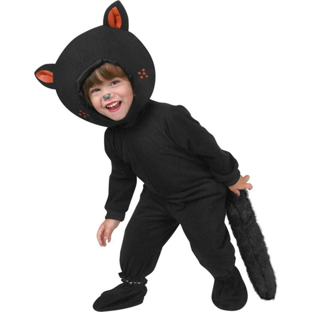 sc 1 st  Amazon.com & Amazon.com: Toddler Classic Black Cat Costume (Size: 2T): Baby