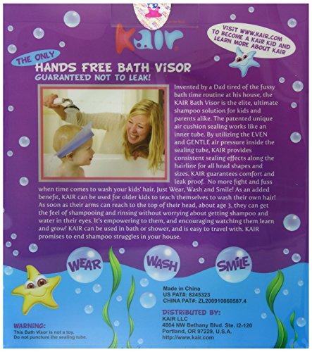 Purple Kair Air Cushioned Bath Visor
