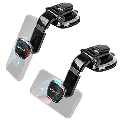 Magnetic Dashboard Smartphone Car Mount Phone Holder Compatible with All Smartphones by Bestrix