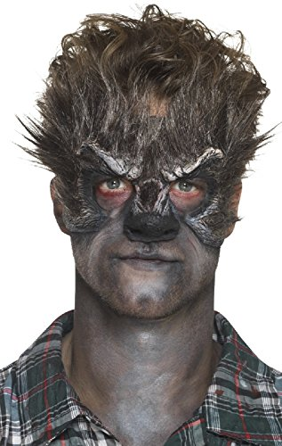 Halloween Horror Prosthetic Foam Latex Wolf Special Effects Stage Quality Fancy Dress Costume Outfit Make Up Kit -