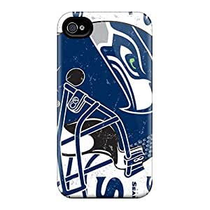 VtdYGvY3757 STrahan Seattle Seahawks Durable Iphone 4/4s Tpu Flexible Soft Case