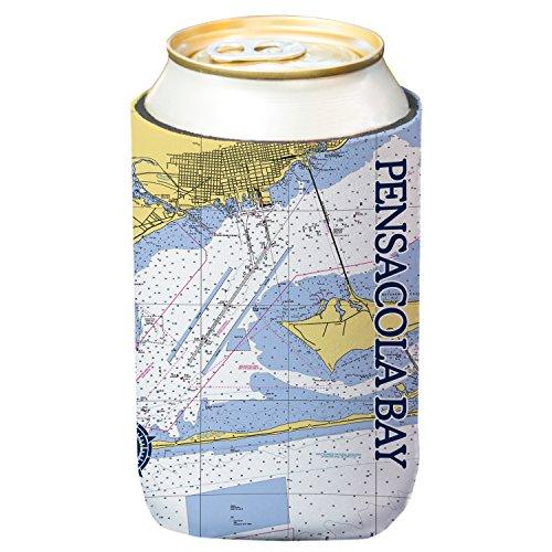 Pensacola Bay Chart Standard Beverage Cooler