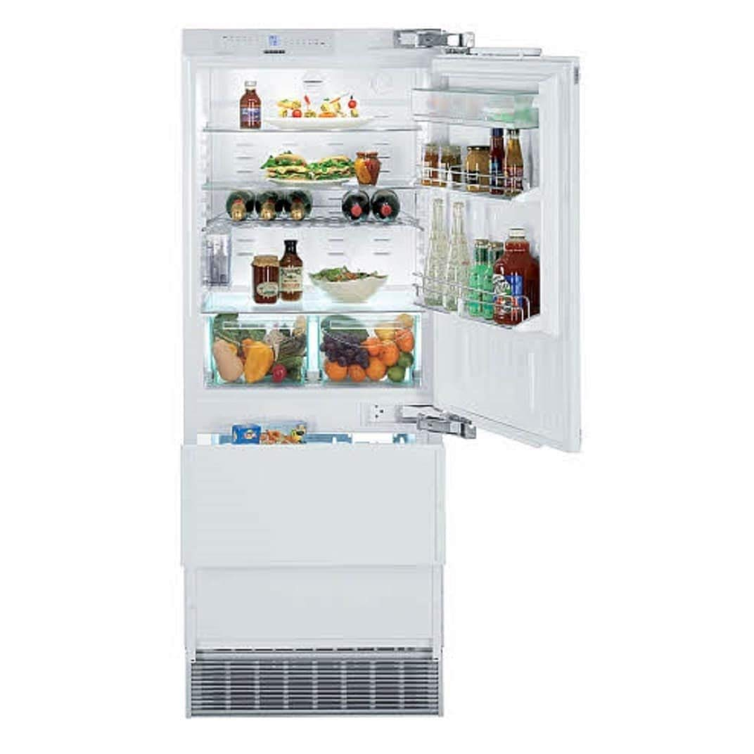 Liebherr HC 1550-30 Inch Fully Integrated Refrigerator with Dual Freezer Drawers(right hinge)