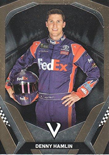 2018 Panini Victory Lane NASCAR Racing #7 Denny Hamlin