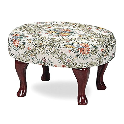 Queen Anne Upholstered Bench - 8