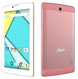 Plum Optimax 12 - Tablet Phone Phablet 4G GSM Unlocked 7' Display Android Dual Camera ATT Tmobile MetroPCS etc - Rose Gold