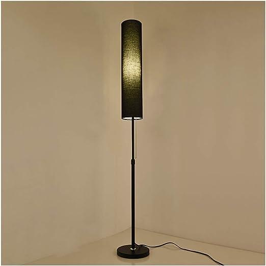REN LED Lámpara de pie Polo Largo Sala de Estar Moderna Dormitorio ...