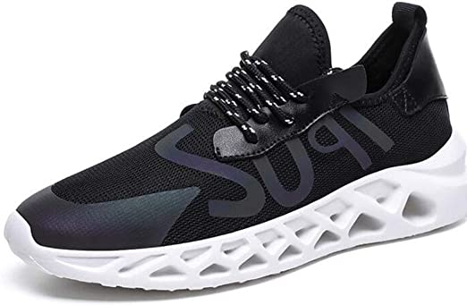 Zapatillas de deporte para hombre, Zapatillas de deporte deportivas ligeras de malla Zapatillas de deporte para hombre Zapatillas de running de carretera Zapatillas de deporte reflectantes más,Purple,42: Amazon.es: Hogar