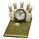 Bowling Lane Mini Clock