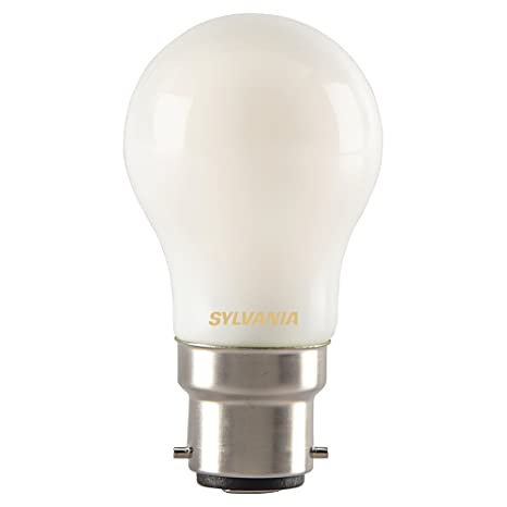 Sylvania 0027255 Toledo retro lámpara de LED con forma de bola, cristal, casa de