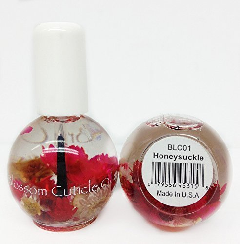 Blossom Cuticle Oil 0.5oz- Honeysuckle by blue cross beauty Honeysuckle Blossom