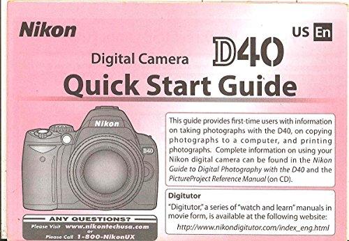 Nikon D40 Manual - 3