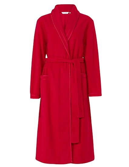 1a749e6402 Slenderella HC6323 Women s Red Dressing Gown House Coat Robe ...