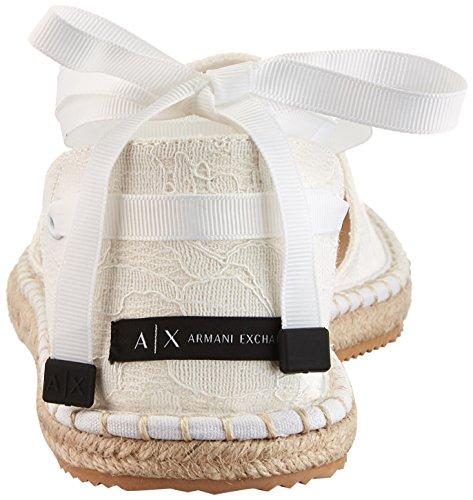 Armani A White Women's X Lace Exchange Sandal Espadrille rr8qwS