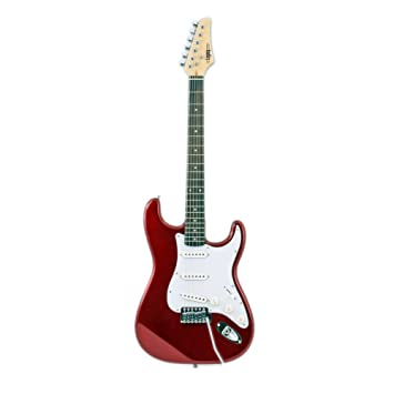 El Instrumento Store legacy-eg-mr solid-body Guitarra Eléctrica, color rojo metálico: Amazon.es: Instrumentos musicales