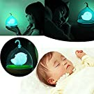 Decor Hut Childrens, Toddler and Baby Bird Night Light,blue Led Lights with Usb Charger Included! Great Baby Shower Gift! Soft Light Comforting to Help Your Baby Fall Asleep Faster