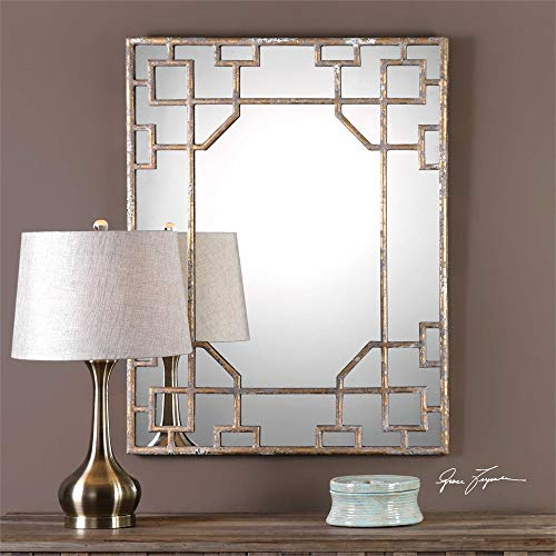 Uttermost Genji Antique Wall Mirror