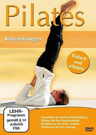 Amazon Com Pilates Bodenubungen 1 Dvd Movies Tv